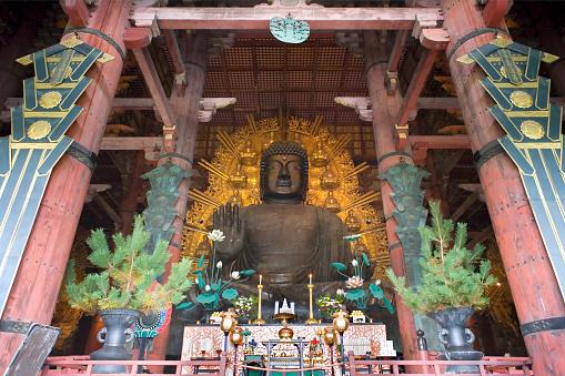 奈良 東大寺 大仏 - The Great Buddh...