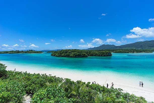 南国ビーチのパラダイス、石垣島、沖縄県、日本