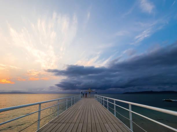 石垣島 (フサキビーチ) の夕日