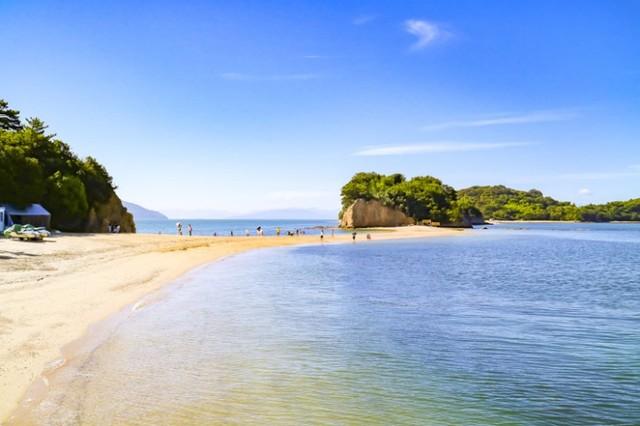 小豆島のエンジェルロード