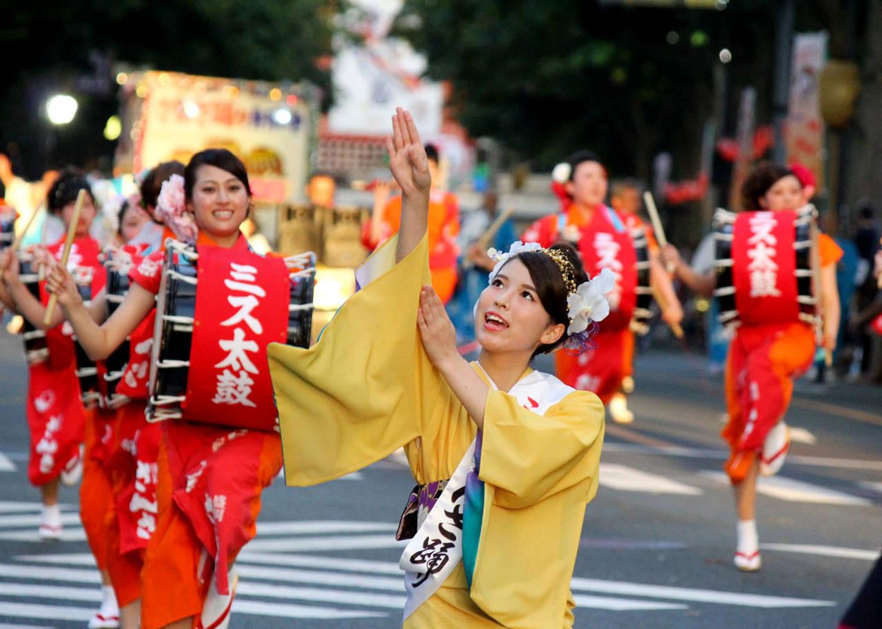 """8月に行きたい名物祭り""""盛岡さんさ踊り"""""""