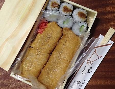 鎌倉、光泉のいなり寿司も美味しいと評判です。