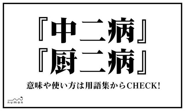 中二病/厨二病(ちゅうにびょう)