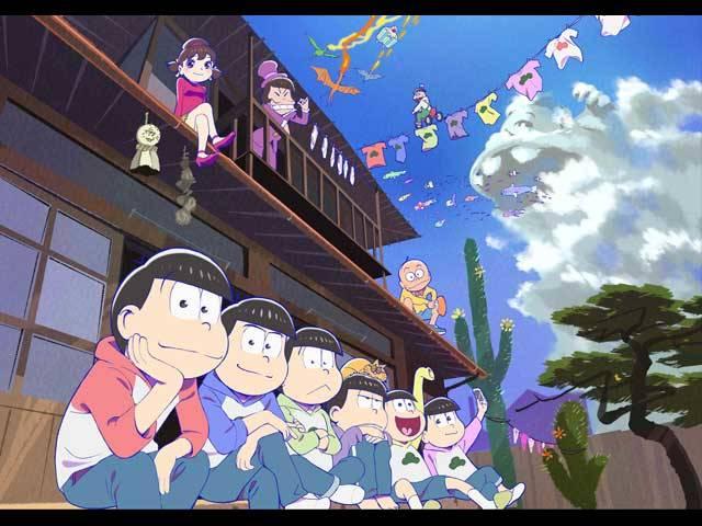 社会現象を巻き起こした大ヒットアニメ「おそ松さん」待望の第2期がdTVで世界最速見逃し配信決定!