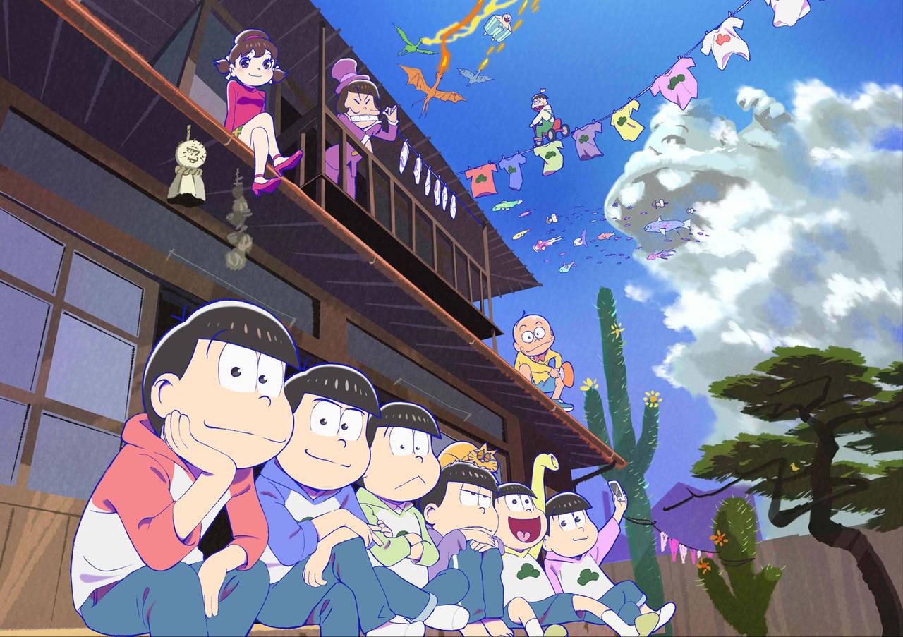 トト子とイヤミ×6つ子たちとの日常を描く大ヒットアニメ「おそ松さん」のオリジナルショートアニメ「d松さん」をdTVで2018年1月9日より独占配信決定!
