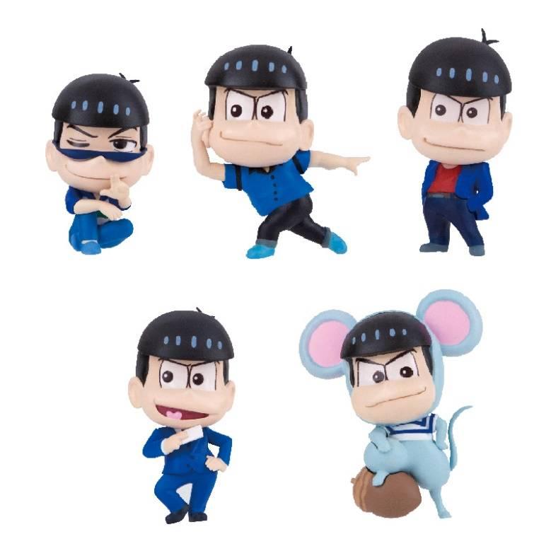 推し松を並べよう!『おそ松さん』のミニフィギュアが発売決定。第1弾はおそ松・カラ松!