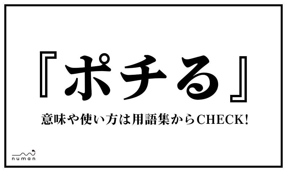 ポチる(ぽちる)