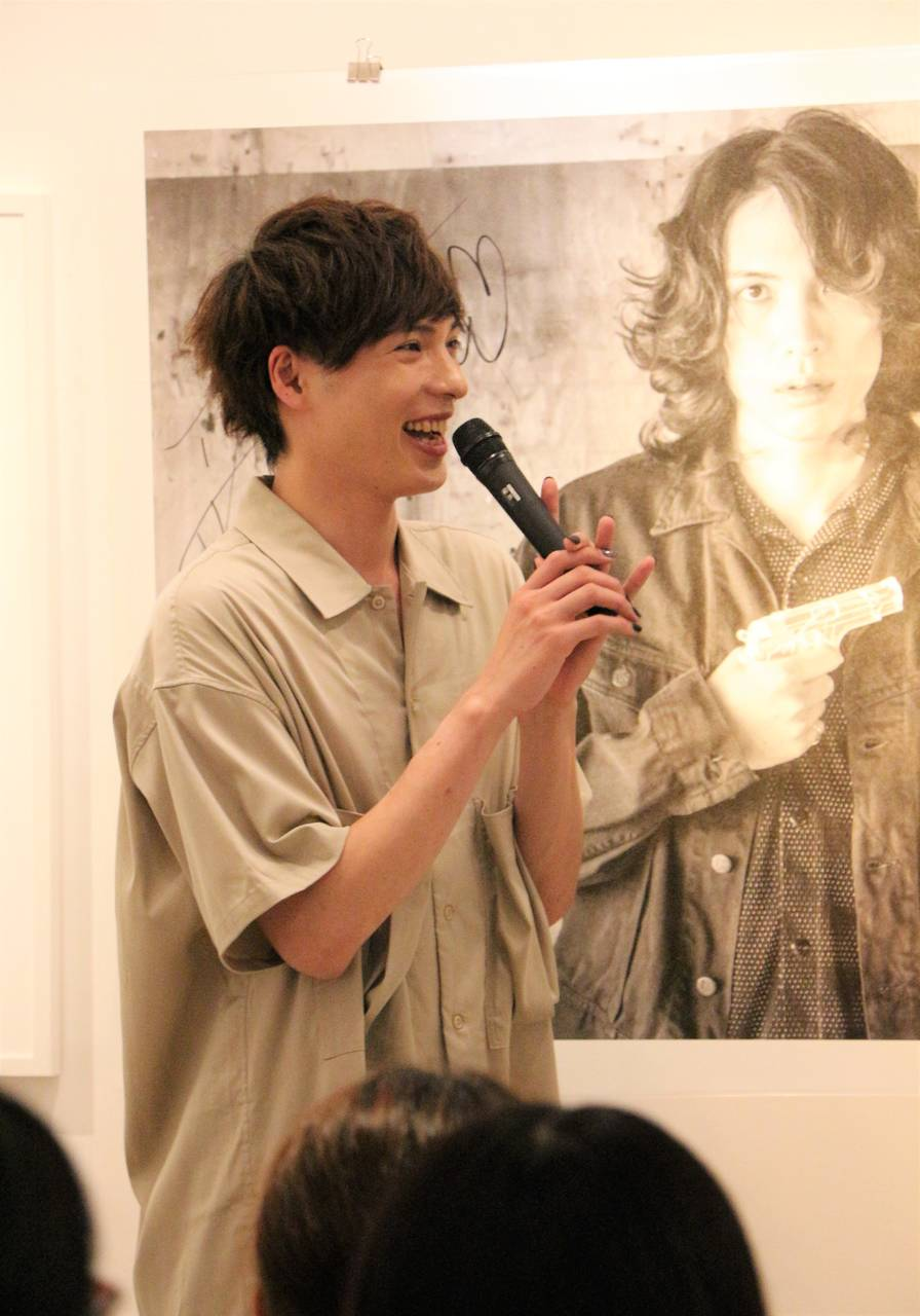 輝馬、写真展イベントレポートが到着!「貴重な初体験でした」