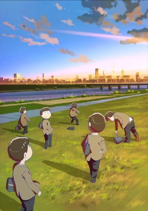 『えいがのおそ松さん』3/15公開! 学生服姿の6つ子のビジュアルが解禁
