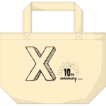 Xth anniversaryミニトートバッグ
