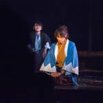 駆けはや舞台画像 沖田と市村