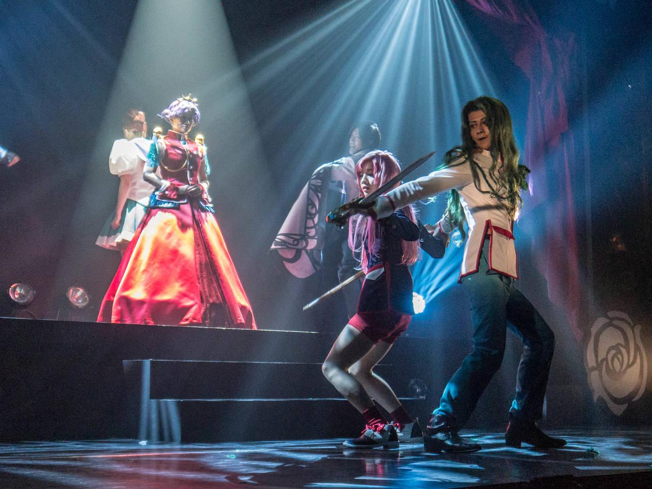 ミュージカル「少女革命ウテナ」舞台写真1