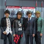 舞台『御茶ノ水ロック -THE LIVE STAGE-』キャスト集合
