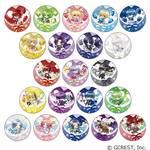 カンバッジ きゃらっぷバルーン(ブラインド) 400円(税別)