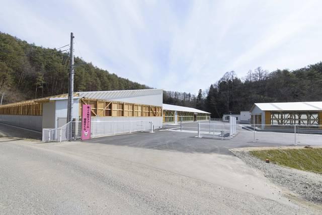 施設の入口