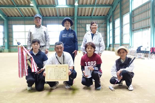 優勝した大堀Bチーム