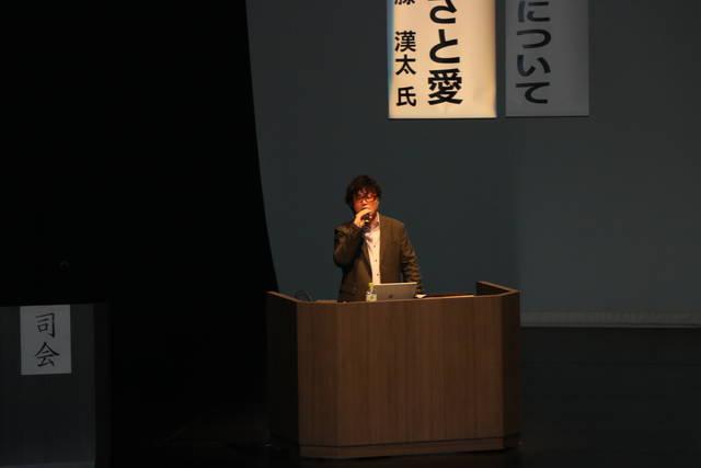 加藤漢太アナウンサーによる講演