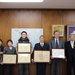 福島県花き品評会で佐久間幸一さん(田村市)が農林水産大臣賞受賞