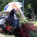 加工用トマト 機械で収穫作業