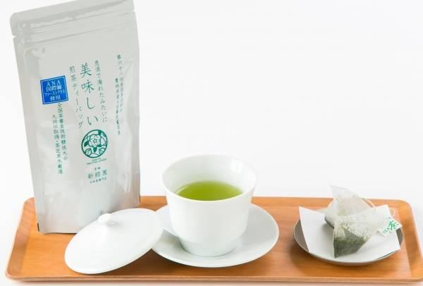 ANA国際線ファーストクラスで使用されていた人気の「宮崎煎茶」をご家庭でも