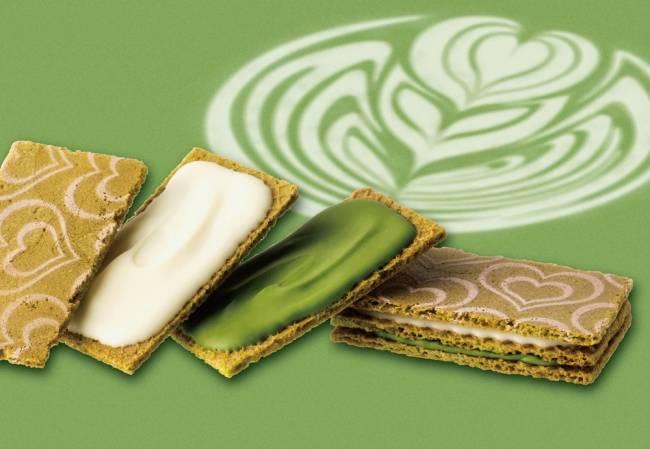 東京駅・グランスタ開業10周年記念『食べて完成する抹茶ラテ』のショコラサンド登場!  2017年10月25日(水) 洋菓子ブランド「銀のぶどう」からグランスタ限定で販売開始