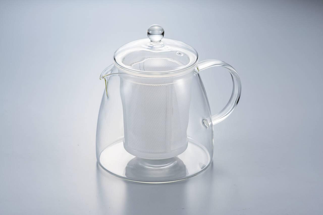 茶こしに徹底的にこだわった耐熱ガラス製のティーポット新発売