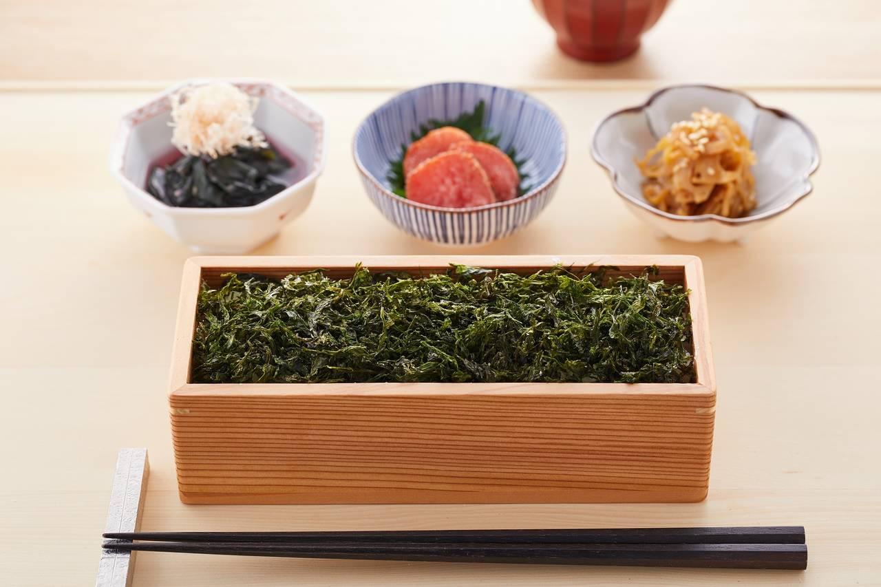 日本茶専門茶房「山本山 ふじヱ茶房」にて新メニュー「海苔重」を提供開始
