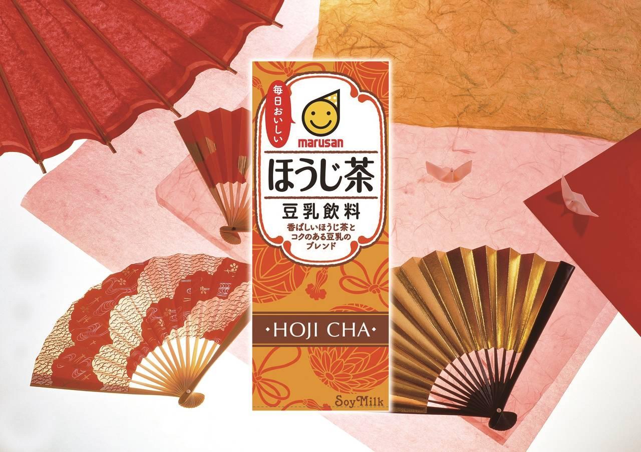 香ばしいほうじ茶とコクのある豆乳のブレンド「豆乳飲料 ほうじ茶」新発売