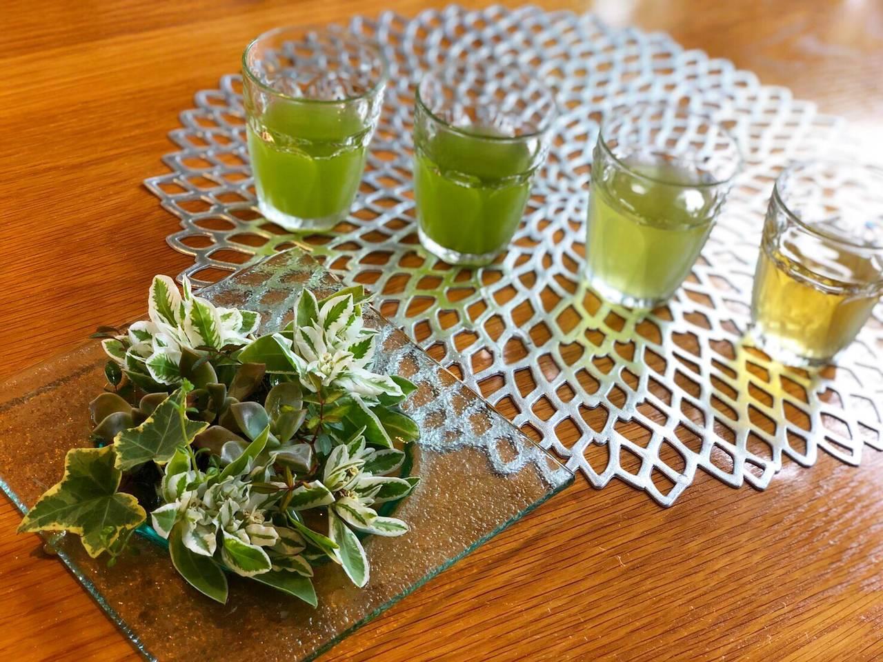 「水出し茶」4種を飲み比べ!