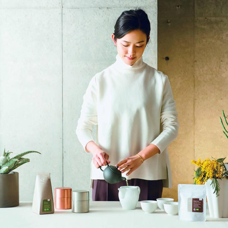 【期間限定】有機日本茶ブランドSaTerra(サテラ)が提案「お茶とお菓子のある 夏のくらし」