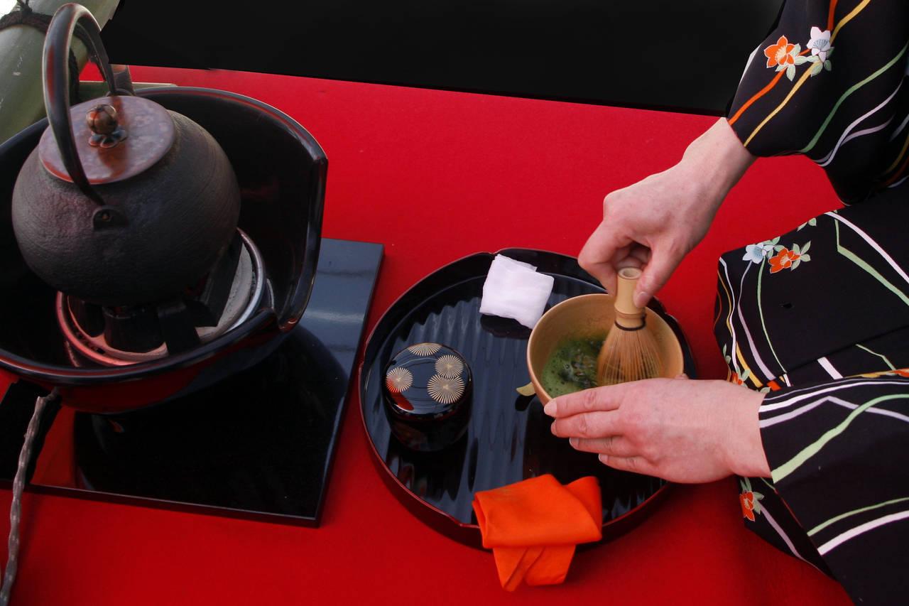 【劇場型レストラン&ラウンジ 水戯庵】文化の秋 福徳の森にて、冷抹茶による涼やかな野点会の開催決定!