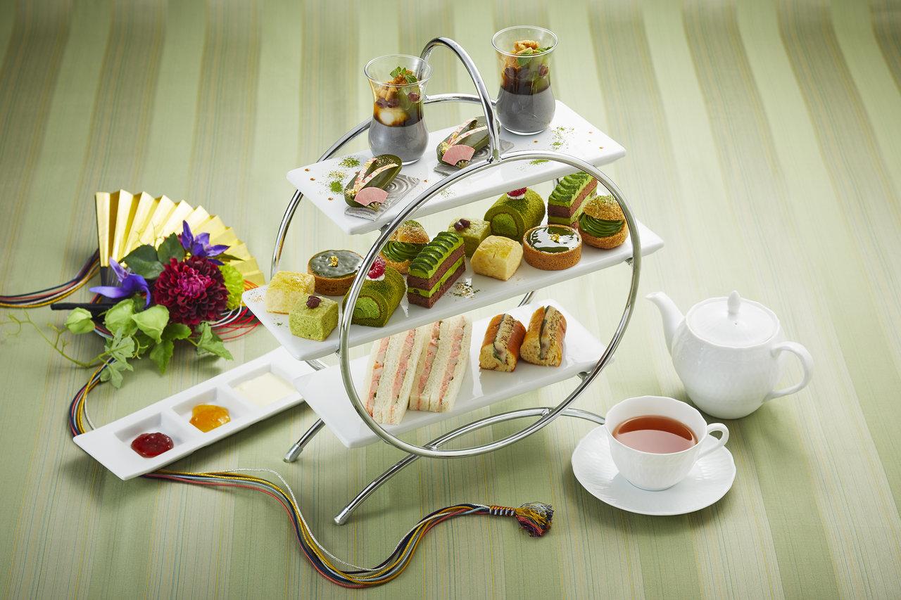 【ロイヤルパークホテル】11月限定!抹茶づくしの和スイーツ「抹茶アフタヌーンティー」を発売。