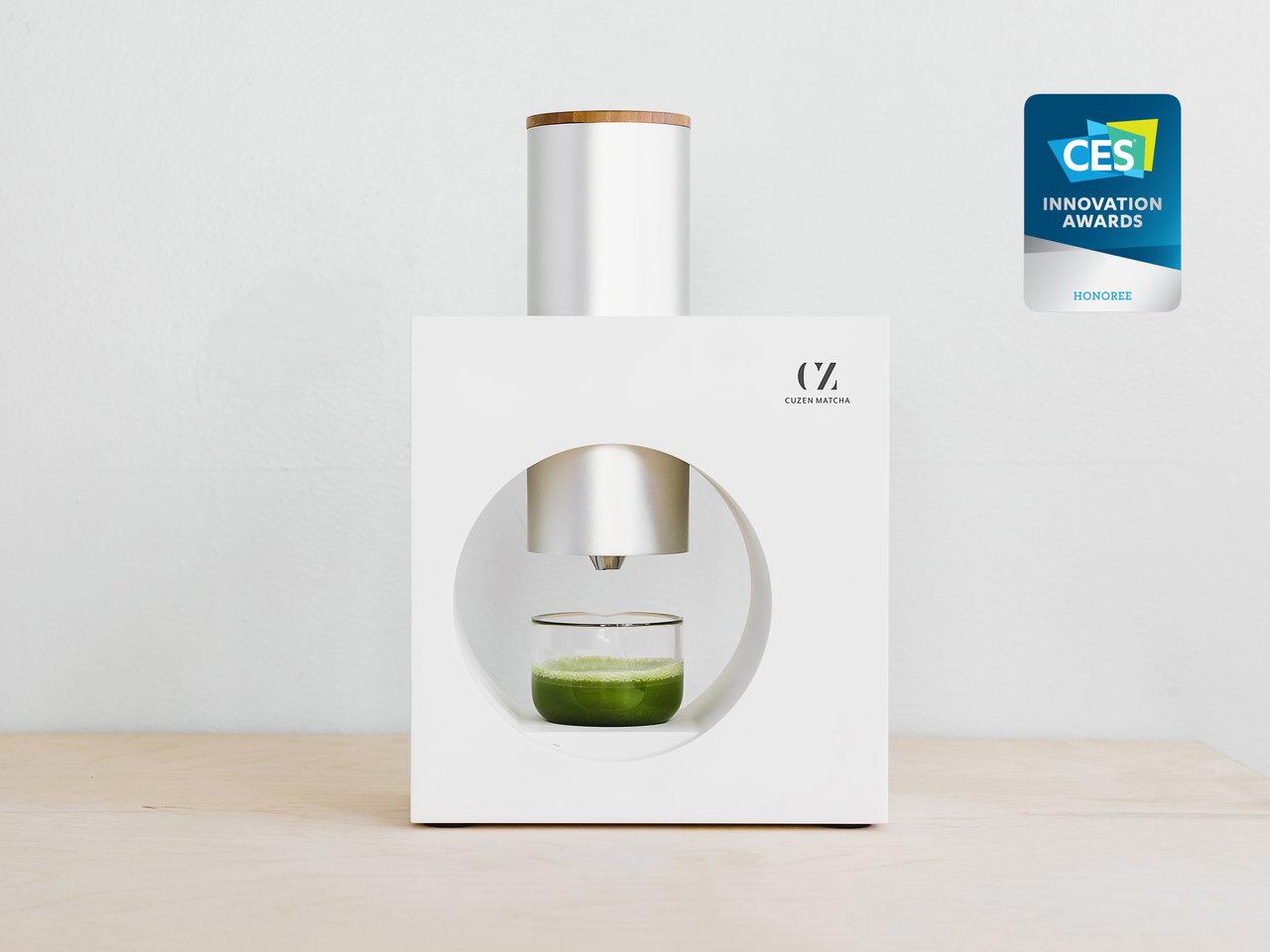 美味しい抹茶を、誰でも簡単に楽しめる「Cuzen Matcha」、世界最大の家電展示会CESにて「CES 2020 イノベーション賞」を受賞
