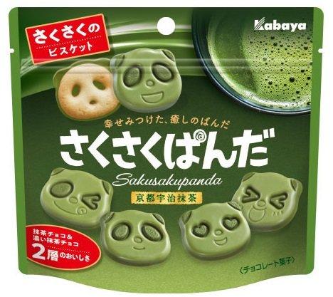 京都宇治抹茶を使用した「さくさくぱんだ」が期間限定で登場!