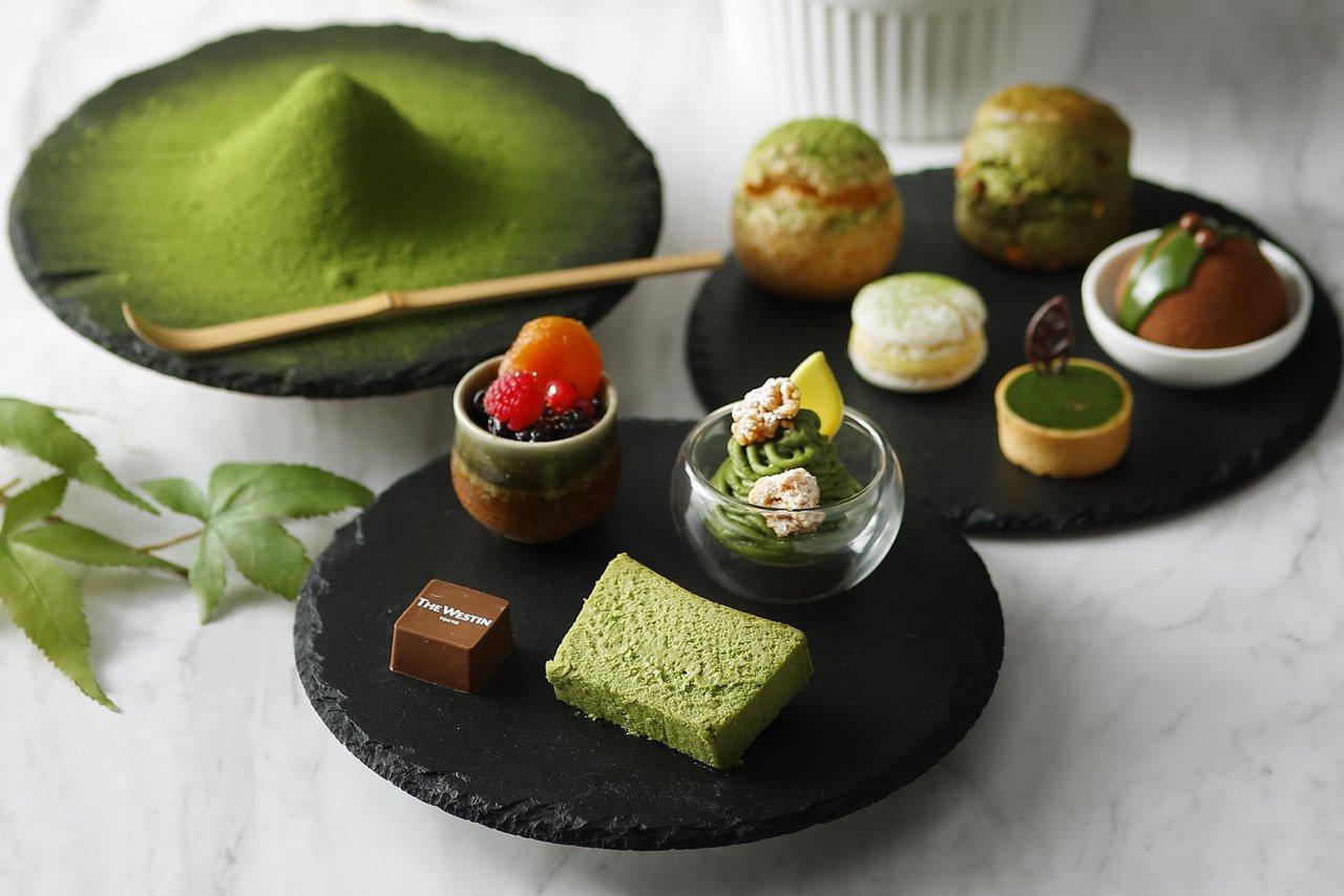 【ウェスティンホテル東京】⾹り⾼く奥深い抹茶の世界を優雅に味わう抹茶アフタヌーンティーを開催