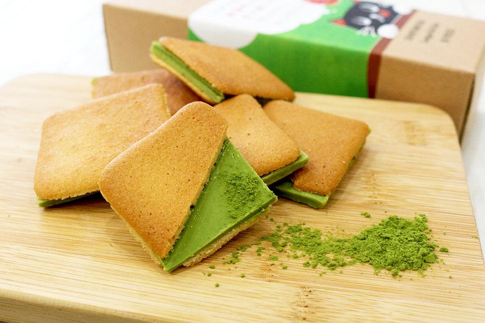 宮崎県新富町産のお茶を使った訪日外国人向けスイーツが誕生