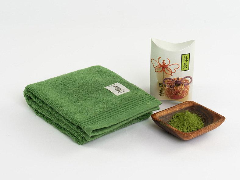 抹茶の癒しと効果を日々の生活に!天然の抗菌・消臭、心落ち着く抹茶色「抹茶タオル™」のクラウドファンディングを開始。