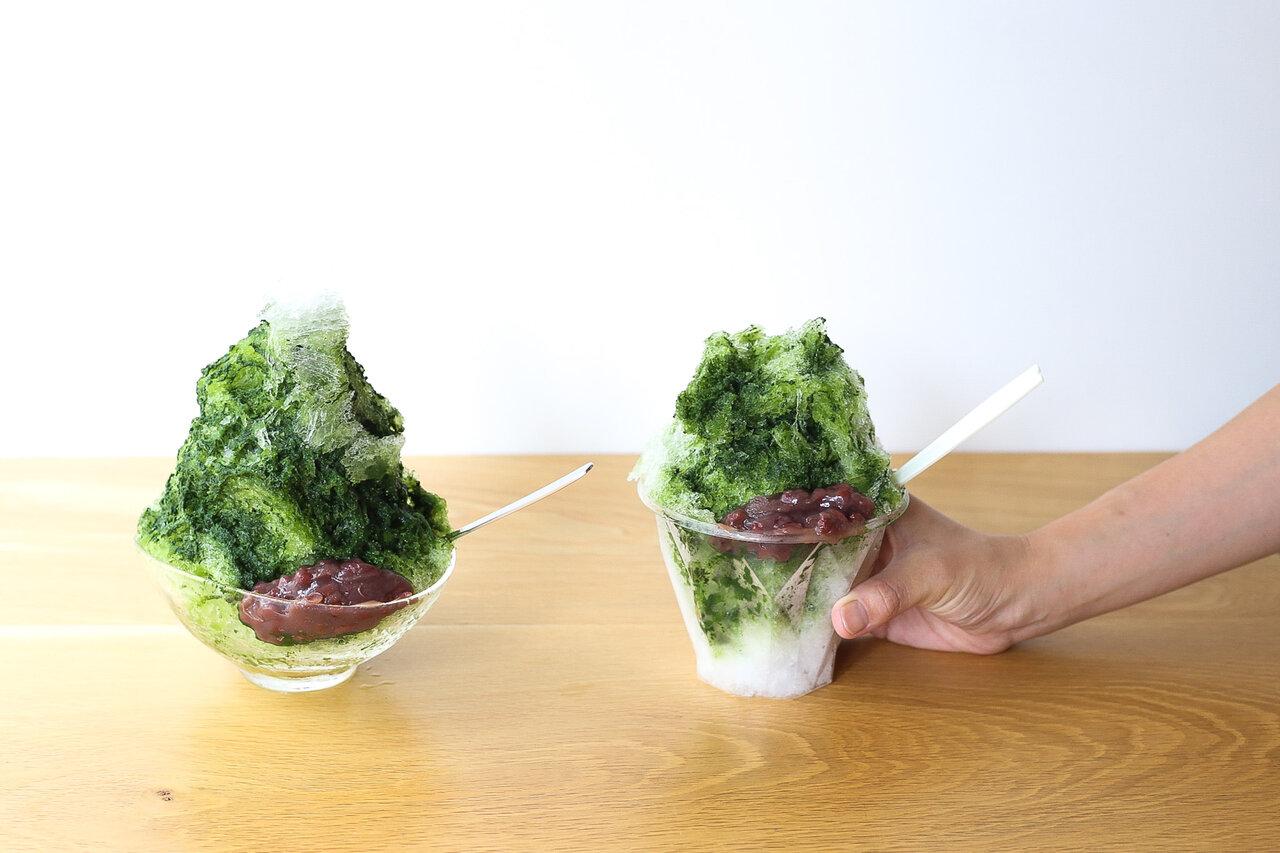 最高の日本茶体験を。日本茶専門店「すすむ屋茶店」のかき氷をテイクアウトで!