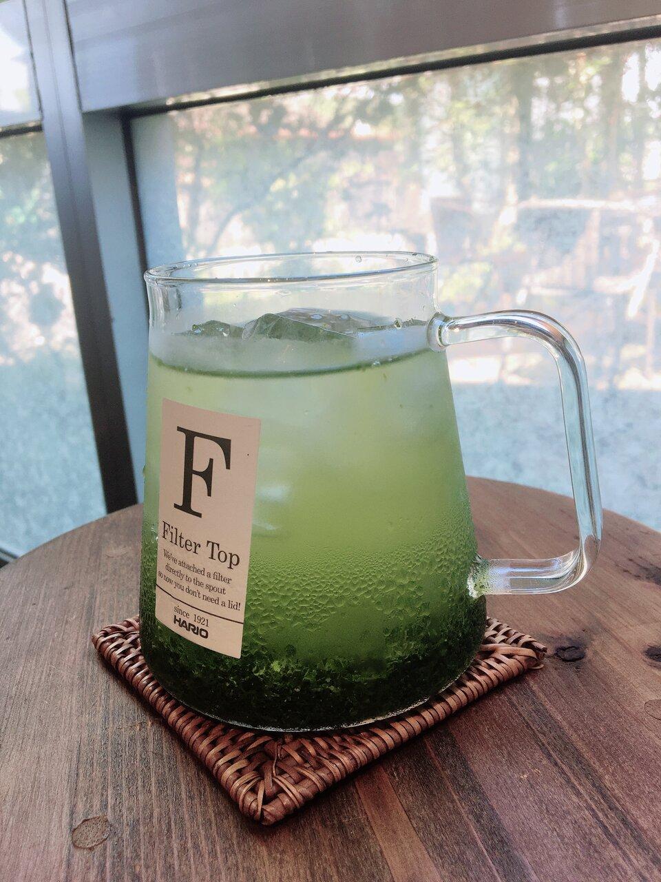 夏は水出し緑茶!