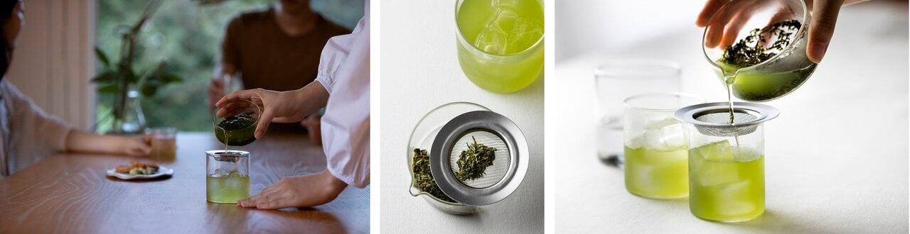 お茶の新しいカタチ、自由な発想のきっかけに! ガラス製茶器「OchaSURU? Glass Kyu-su」