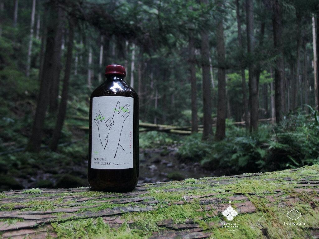 【日本初】日本茶の生葉を使ったジン「First Essence Tea Leaf Gin」が商品化!