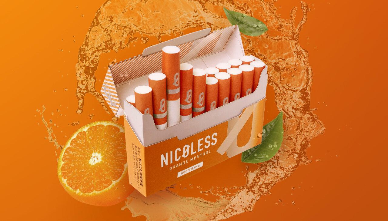 ニコチンゼロの新習慣NICOLESS(ニコレス)に新フレーバー登場!華やかに広がるフルーティーな味わいの「オレンジメンソール」新発売