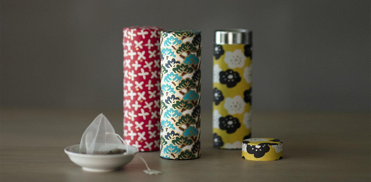 ギフトに、自分へのご褒美に。友禅和紙に包まれた茶缶がおしゃれな、SOU・SOU×宇治田原製茶場のティーバッグ