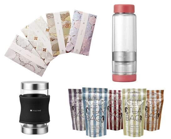 【ロフト】おうち時間を楽しむ「夏茶スタイル」。水出しアイテムや、抽出機能付きタンブラーなど。