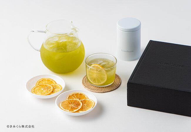 おいしさをぎゅっと凝縮した新感覚の水出し茶「フルーツ煎茶セット」をきみくらオンラインショップで期間限定で販売いたします