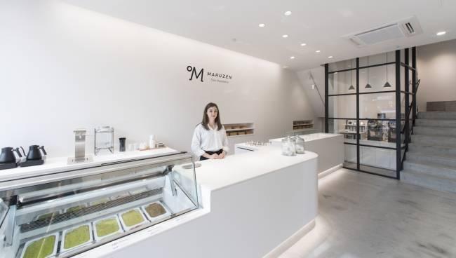 世界初の焙煎温度が選べるティージェラートカフェ「MARUZEN Tea Roastery」が静岡にオープン!