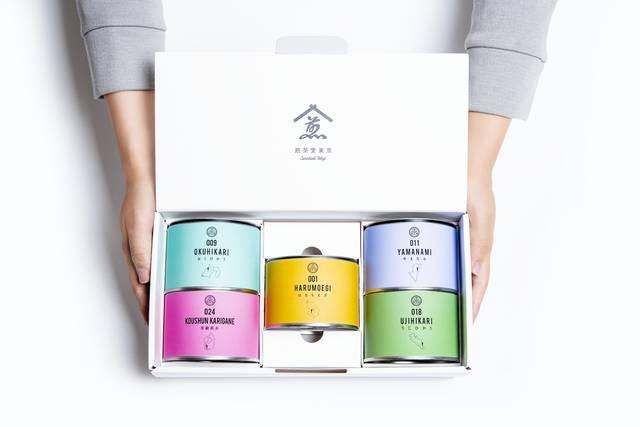 シングルオリジン煎茶各種(アルゴリズムパッケージ)