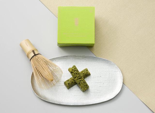 碾茶(てんちゃ)入り抹茶クランチショコラ