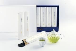 モダンで高級感のあるデザインと、7種のお茶が飲み比べで...