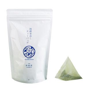 鮮やかな緑色の水色で、渋みの少ないお茶です。ティーバッ...